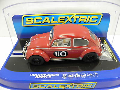 Scalextric C3484 Slot Car Volkswagen VW Käfer 1960 R.A.C. Rally Maßstab 1:32