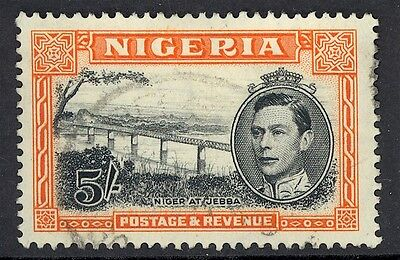 Nigeria, Used, 53-8, 60-4, (1) Shown, Magnificent Centering