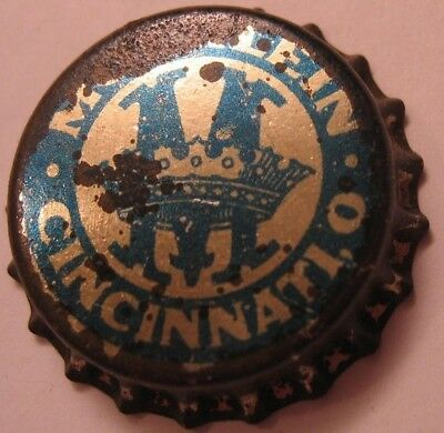 Moerlein Beer Bottle Cap; Pre-Pro; 1915-19; Cincinnati, Oh; Unused Cork