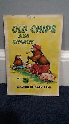 "1954 BOOK ""OLD CHIPS and CHARLIE"" by ED DODD - COCA-COLA comic book coke"