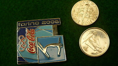 Torino 2006 Olympic winter games free style skiing coke coca cola sponsor #45