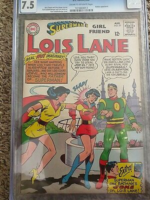Superman's Girlfriend Lois Lane #59 HIGH GRADE CERTIFIED CGC 7.5 Aug.1965 SHARP!