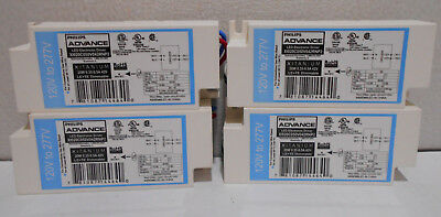 X4 New Philips 120- 277V Led Electronic Driver/ Ballast Le + Te Dimmable 20W