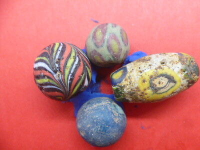 Small Collection of Glass Beads