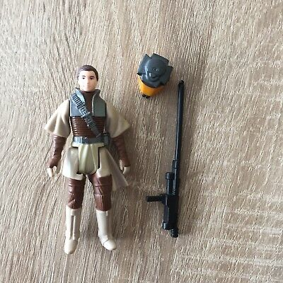 3x Star Wars Vintage Leia - Lando Disguise -Han Solo Hoth Kenner