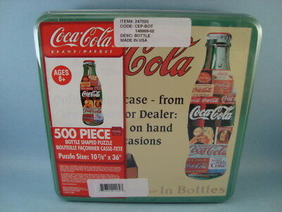 Coca Cola 500 Piece Puzzle In Tin New In Package USA   Free Shipping