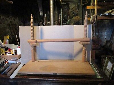 Vintage Bookbinding Sewing Frame by RUSSELL BOOKCRAFTS HITCHIN with 5 Keys