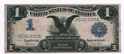 Series 1899 Elliot and White Freidberg #235 Black Eagle One Dollar Silver Cert