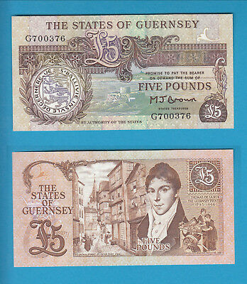 GUERNSEY - The States of Guernsey - 5 Pounds
