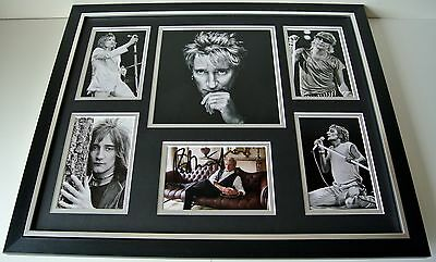 Rod Stewart SIGNED FRAMED Photo Autograph Huge display Maggie May Music & COA