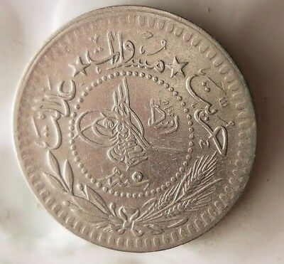 1913 OTTOMAN EMPIRE 5 PARA - Low Mintage Islamic Coin - Lot #F17
