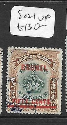 Brunei (Pp2603B)  On Labuan Crown 50C  Sg 21  Vfu