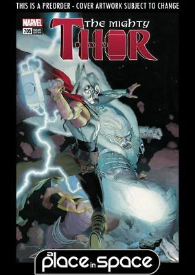 (Wk12) The Mighty Thor #705C - Ribic Mighty Thor Variant  - Preorder 21St Mar