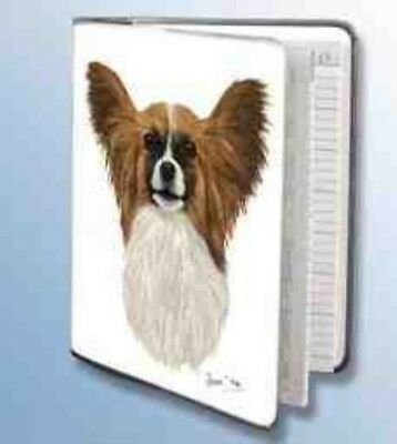 Retired PAPILLON Softcover Address Book artwork by Robert May