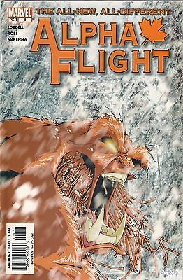 ALPHA FLIGHT Vol.3 # 8<>MARVEL COMICS<>2004<>SCOTT LOBDELL/DAVE ROSS<>vf+(8.5)~~