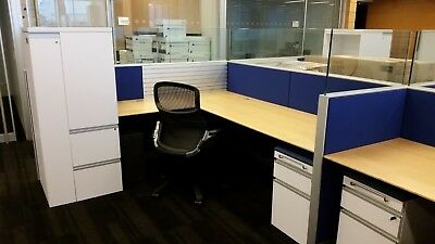 Used Office Cubicles, Knoll Autostrada Cubicles 7x7