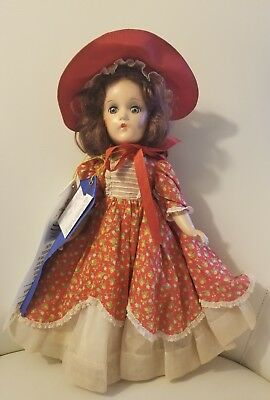 "Womderful 1930's Madame Alexander 14"" Southern Girl Doll All Original"