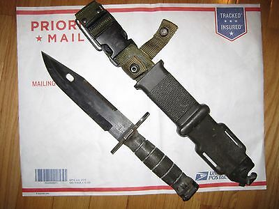US Army Lan Cay M  9 bayonet with scabbard !!!