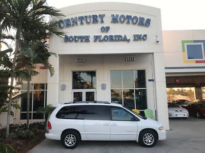 2000 Dodge Grand Caravan SE Mini Passenger Van 4-Door Rear A/C Alloy Wheels No Accidents Third Row Bench