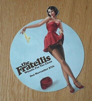 The Fratellis - Whistle For The Choir - Rare Flyer - 2006