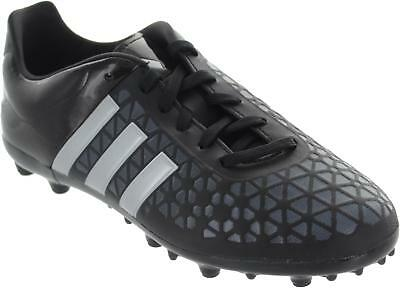 121cb8472a Adidas Ace 15.3 Fg/ag J Older Boys Black Lace Up Astroturf Football Trainers  New