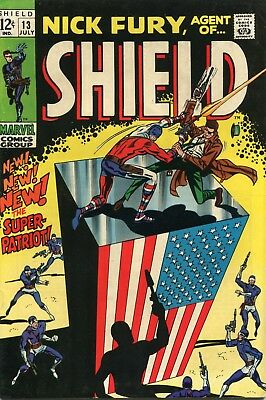 Nick Fury Agent Of Shield # 13 - 1St Appearance Of Super-Patriot - Cents Copy