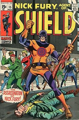 Nick Fury Agent Of Shield # 15 - 1St Appearance And Death Of Bulls-Eye - Key