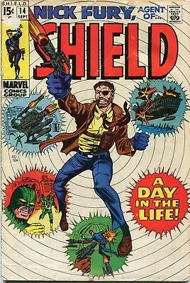 Nick Fury Agent Of Shield # 14 - Non Distributed In Uk - Cents Copy