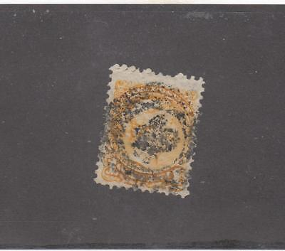 Canada # 35 Small Queen With Fancy Ring Cancel Maple Leaf?