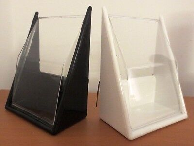 2 x PORTEX CANARY SEED HOPPERS FEEDER FOR CAGE FRONT - AVAILABLE BLACK OR WHITE
