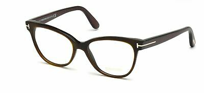 2fc69c3df2b AUTHENTIC TOM FORD FT5291 005 Black Violet Eyeglasses -  275.99 ...