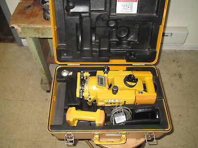 Topcon GTS-3B Survey Instrument w 2 Batteries and case