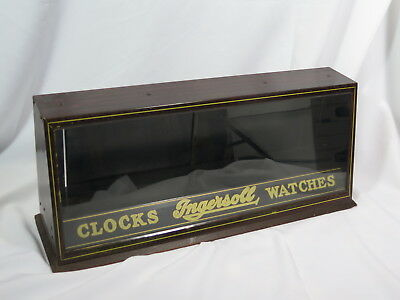 Fabulous Advertising Ingersoll Clock Display - ca 1920's - Near MINT condition.