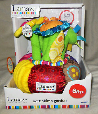 Lamaze Soft Chime Garden Baby Toy NEW