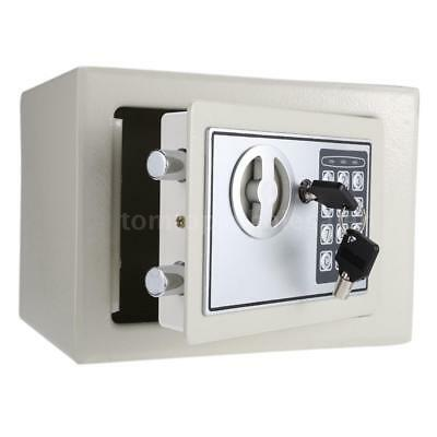 Digital Electronic Safe Box Keypad Lock Security Wall Mount for Home Office C4Y9