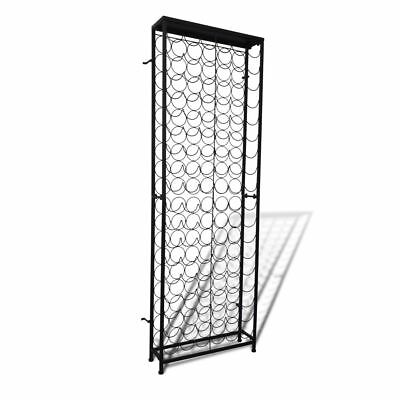 108 Bottle 191cm Metal Wine Cabinet Storage Rack Stand Holder Home Bar Organiser