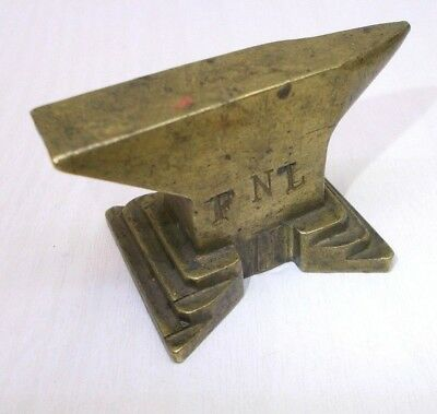Vintage anvil jewelry jeweler's anvil watchmaker tool blacksmith brass antique