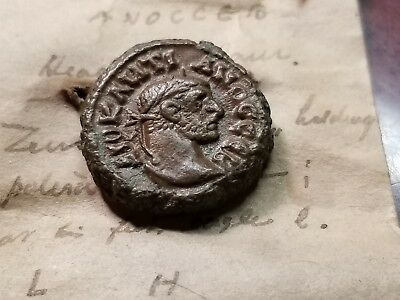 Egypt, Alexandria. Diocletian. 284-305 Ad Year 8  291/2 Ad (19Mm,7.28Gms), Zeus