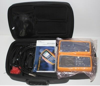 Fluke DTX-1800 Cable Analyzer With Smart Remote CAT6A LIKE NEW