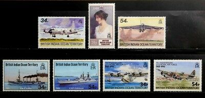 British Indian Ocean Territory: 1990-92 Unused Stamp Collection Of Better Cv $30