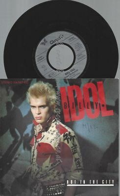 """7""""   Billy Idol – Hot In The City"""