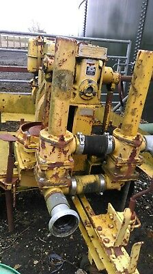 Johnson twin diaphragm diesel sludge slurry dirty water pump like Hilta drysite