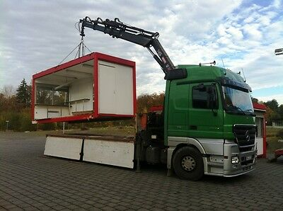 TRANSPORT- BÜROCONTAINER, Baucontainer, Container, Imbisscontainer, Seecontainer