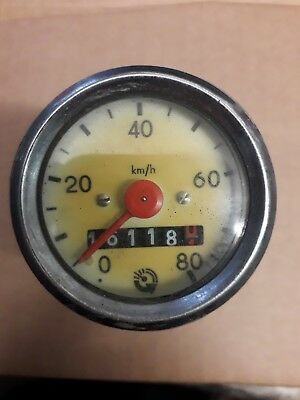 Tachometer Hercules Prima 2 3 4 5 Optima MP 4 Mofa Moped 80 kmh neu