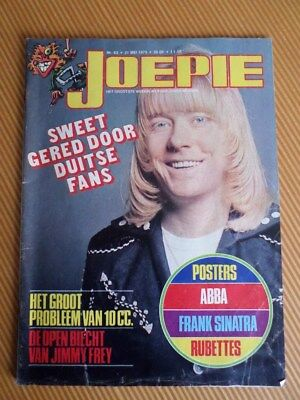 Rare Joepie The Sweet Abba Rubettes Brian Connolly Cover Mag Magazine