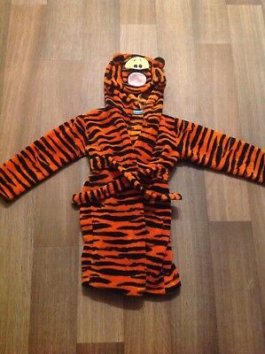 Children's Tigger Dressing Gown Size 18-24 Months
