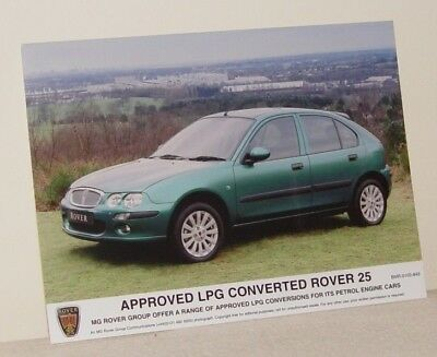 MG Rover Group Communications Photograph LPG Approved Rover 25 Monogram Lagoon