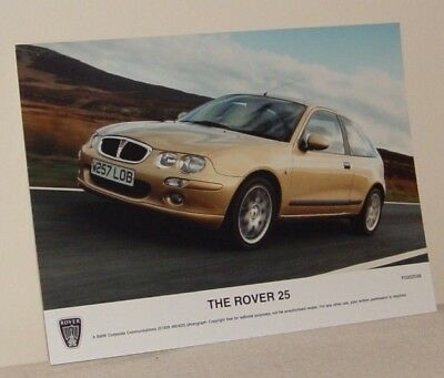 MG Rover Group Communications Photograph The New Rover 25