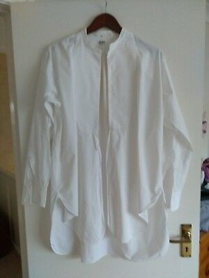 """Vintage Men's Collarless """"Peaky Blinders"""" Evening Shirt with 15 1/2 Collar."""