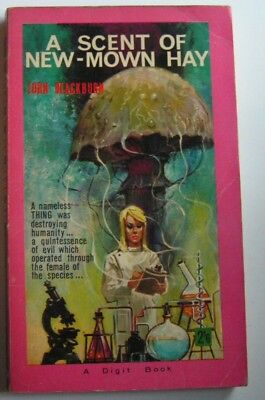 John Blackburn - 'A Scent of New Mown Hay' - Digit R846  1964  Vintage Sci-Fi